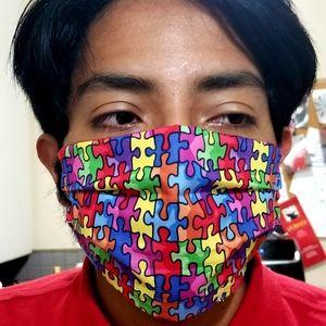 Autism Awareness Face Mask